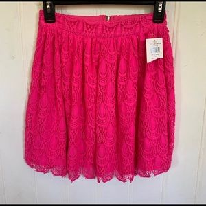 Sopranos lace skirt with scalloped hems NWT